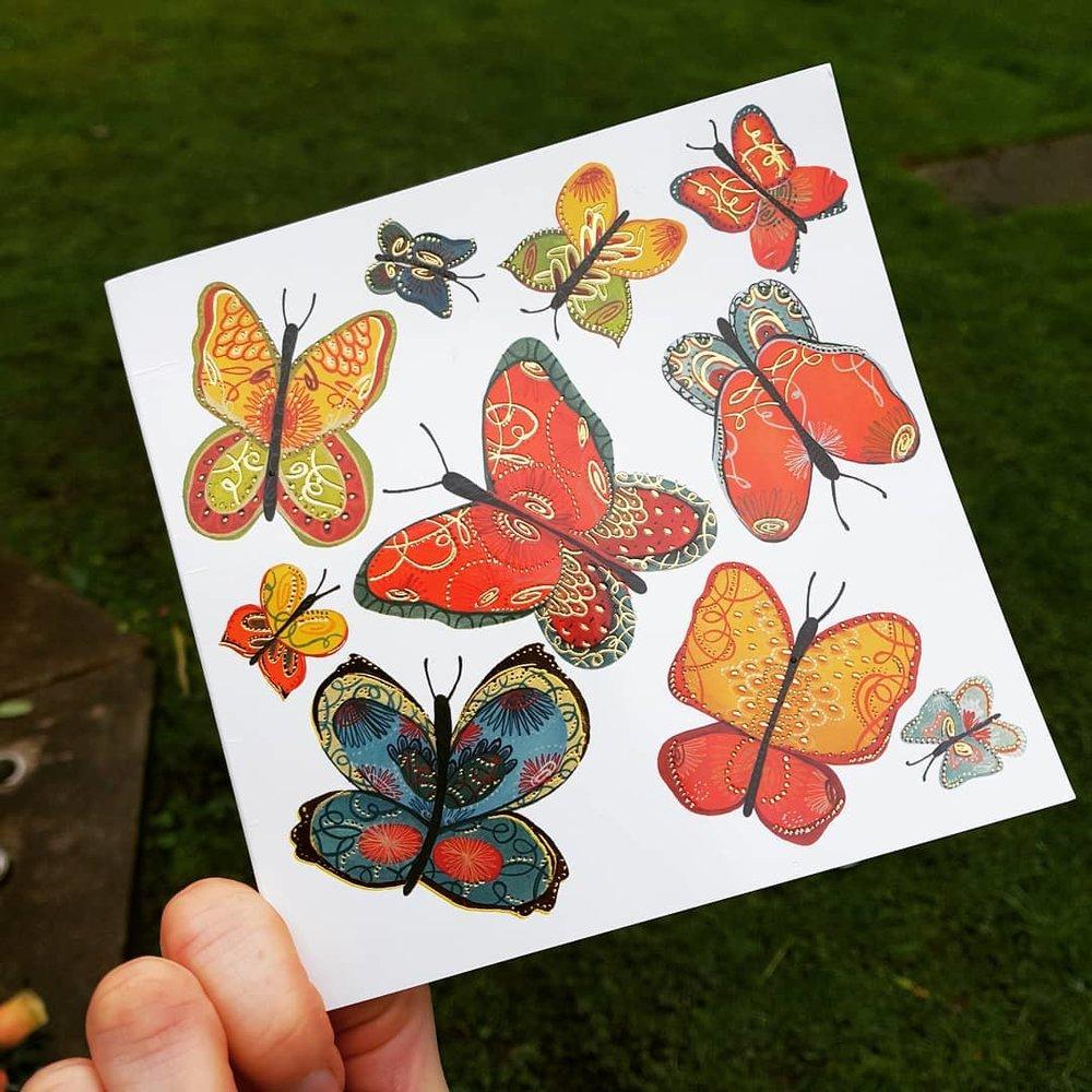 Butterflies for dad