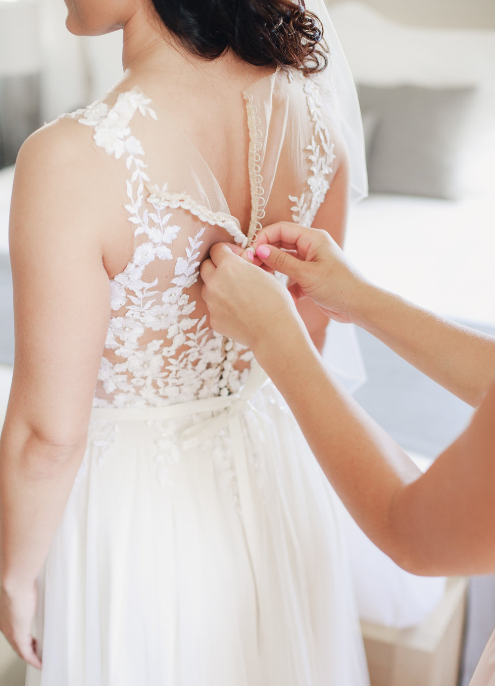 poročne priprave fotografija