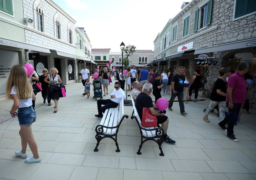 Designer Outlet Croatia - Premium Outlet Village architecture and atmosphere inspired by Croatia's regions