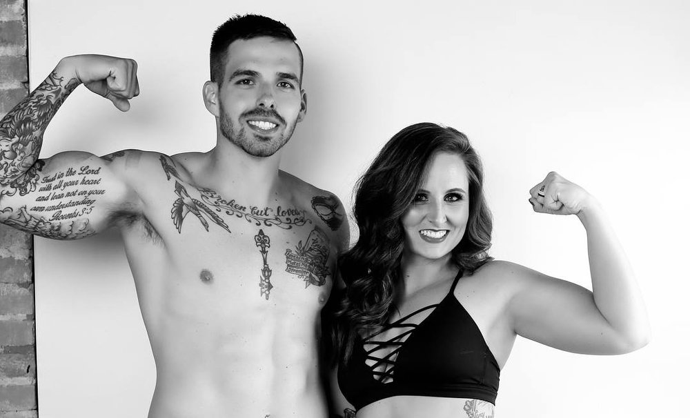 Leah + Joseph - Meet the Owners. With a combined 20+ years of fitness training experience, Coach Leah and Coach Joseph are the heart of Anchor Fitness.Where did the idea come from?Leah and Joseph began noticing an intrinsic need in the community for a place that offered group fitness without the intimidation. There was a need for a gym where you could be challenged to work hard, while feeling the support of a community and guidance from trainers who truly care about your health and wellness goals. This was and is today, the foundation of Anchor Fitness.The beginning.After lots of prayer and reflection, Coach Leah began training a handful of clients in a small studio space. But after a few short months- the Anchor community had exploded, maxing out this space. Batavia is where these coaches call home, and when a 1500sq ft space in an open air warehouse became available… Anchor planted it's roots. Within 365 days, Anchor Fitness would undergo twomore facility expansions. In May 2018, Anchor Fitness now encompasses 22,000 sq ft of training space; including a state of the art skills course for our youth ARK athletes, and a boxing gym. The journey that began as a dream, in three short years now employs 8 staff members, over 190 clients, and continues to grow month after month becoming a household name for health and wellness in the community. This is a community of members tackling challenges they never thought possible. This is a team of trainers sharing their passion with the community. Words can't describe how different this place is from other gyms- you must see it… to believe it. This is Anchor Fitness.