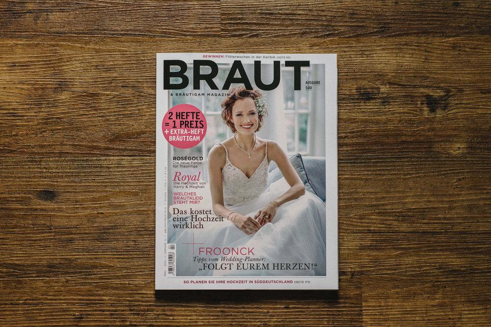 braut magazin - hochzeitsreportage maisenburg