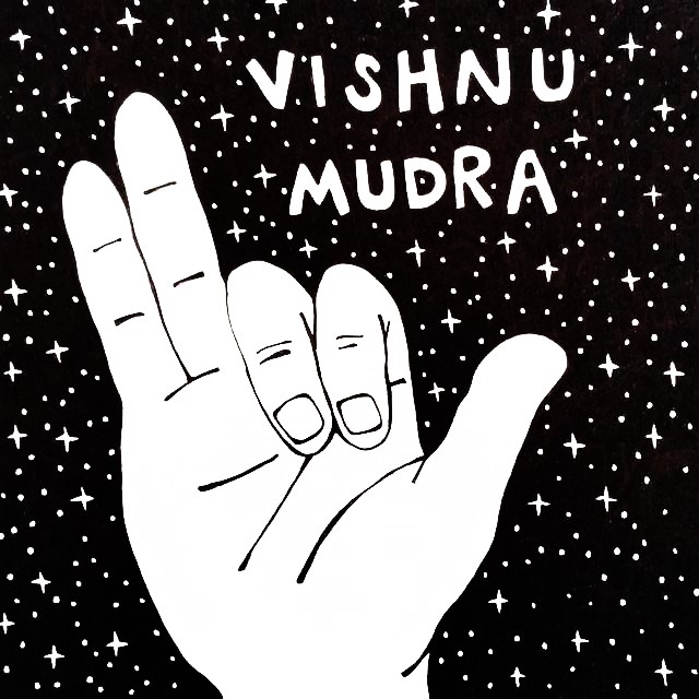 Mudra Of The Month Vishnu Mudra Balance Garden