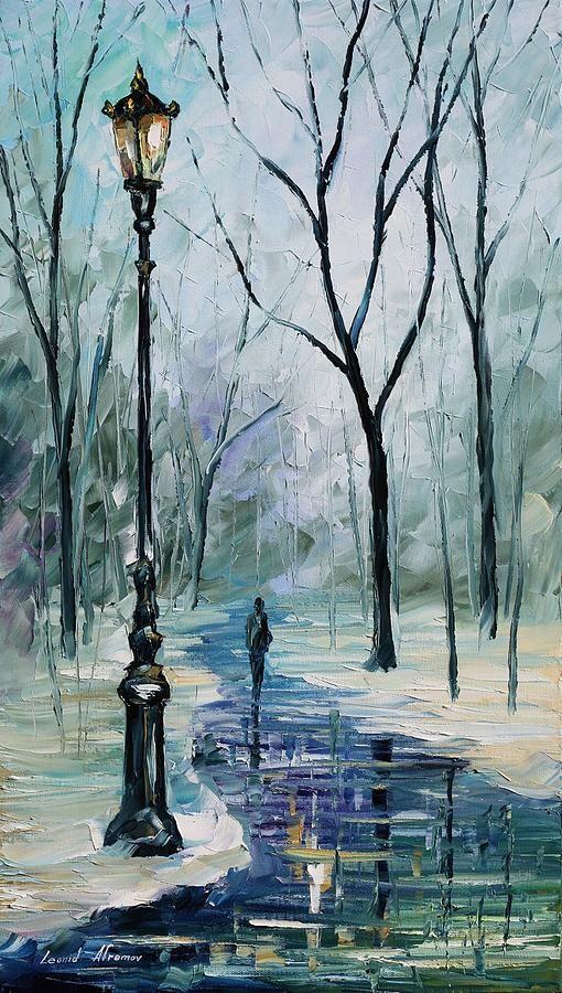 Winter Light by Leonid Afremov