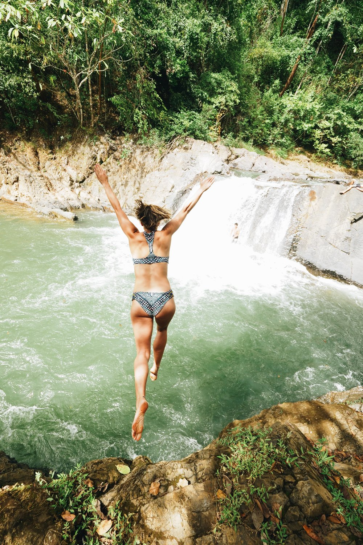 Retreat take the plunge