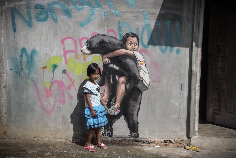 Ernest Zacharevic Bukit Lawang Photo Credit Ernest Zacharevic .jpg