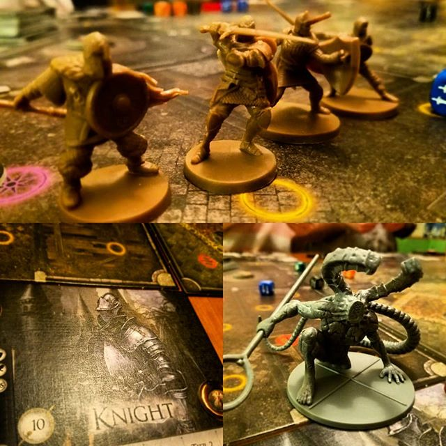 Game o' the Week: Dark Souls Podcast will be up soon! This game kicked our butts and we looooooooved it! #tabletop #darksouls #podcast #justforthehalibut