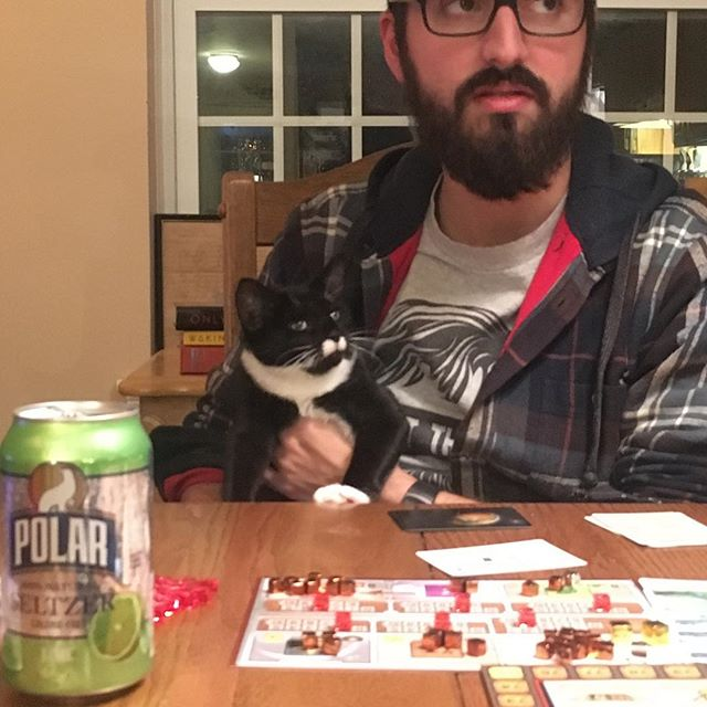Pippa the Cat is joining the podcast! @henandpips is ready to terraform Mars! Plus @kokamantratarius is back in his original body! #boardgames #cardgames #tabletopgames #gameotheweek #podcast #cats #kittens #terraformingmars