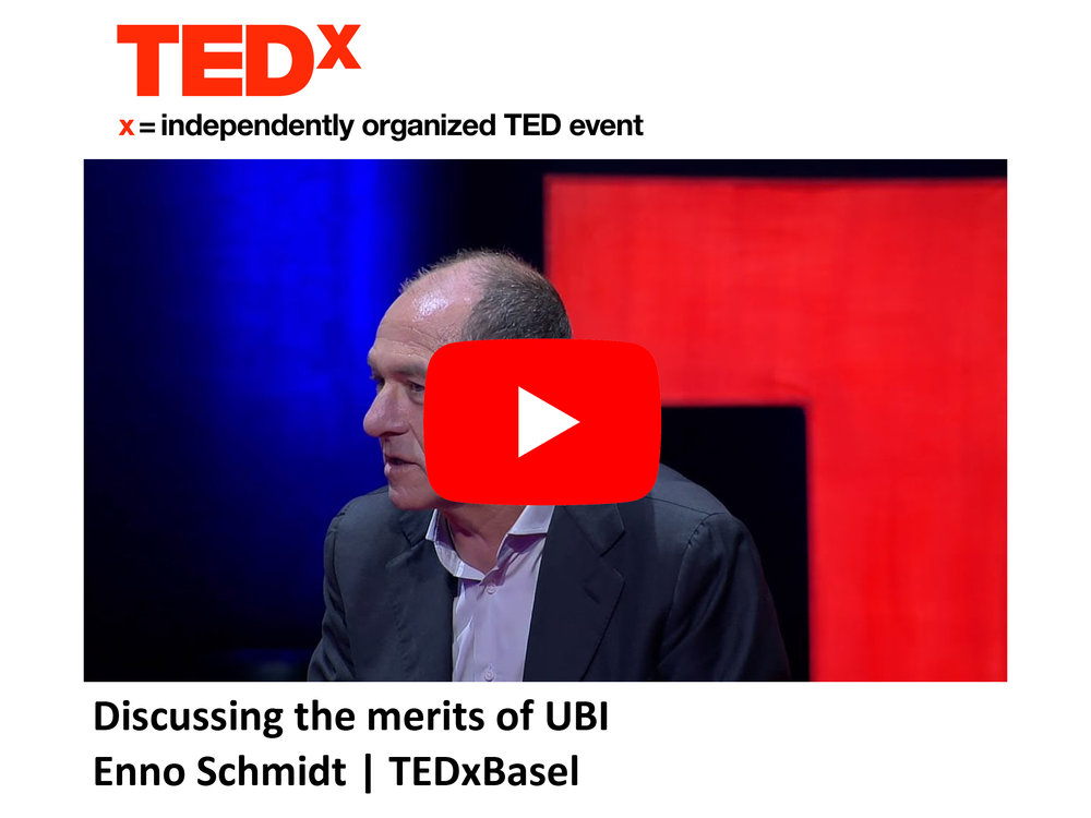 TEDx - Discussing the merits of UBI