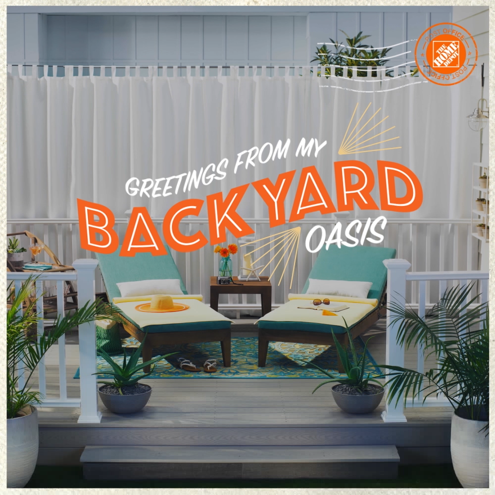 The Home Depot  - Outdoor Oasis