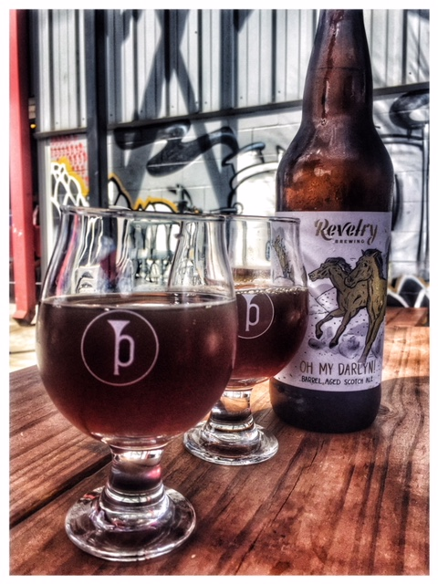 Oh My Darlin by Revelry Brewing Co , Photo taken and edited by Broderick Whitlock