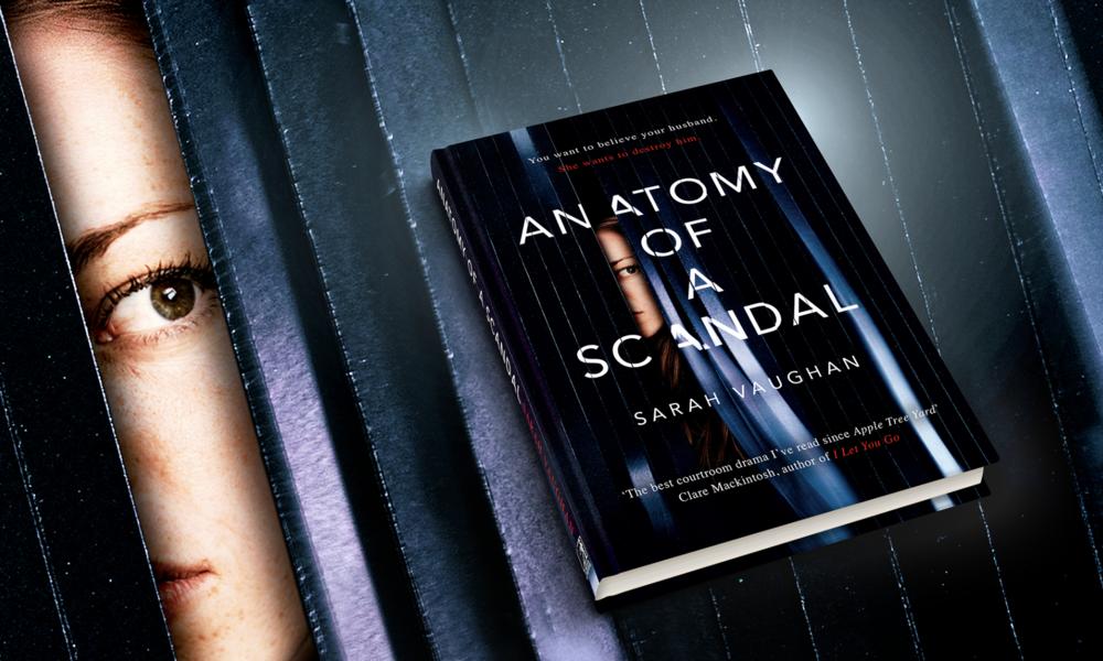 Sarah Vaughan Author Anatomy of a Scandal