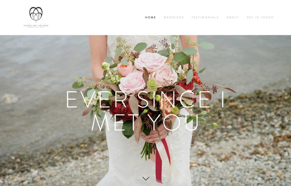 Site Owl - Caroline Holmes website