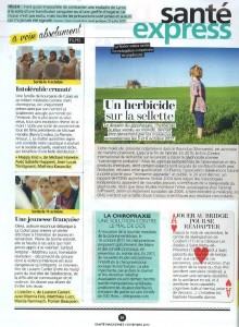 ARTICLE SANTE MAGAZINE