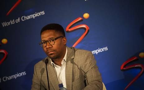 PHOTO: SuperSport CEO Gideon Khobane. Picture: Kayleen Morgan/EWN.
