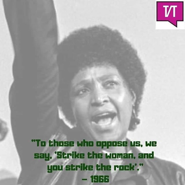 #MamaWinnie walked so we can fly.  #WinnieMadikizelaMandela ✊✊✊
