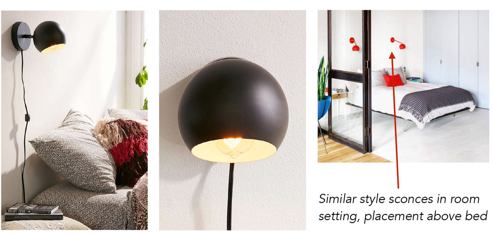 SCONCES - URBAN OUTFITTERS, $29