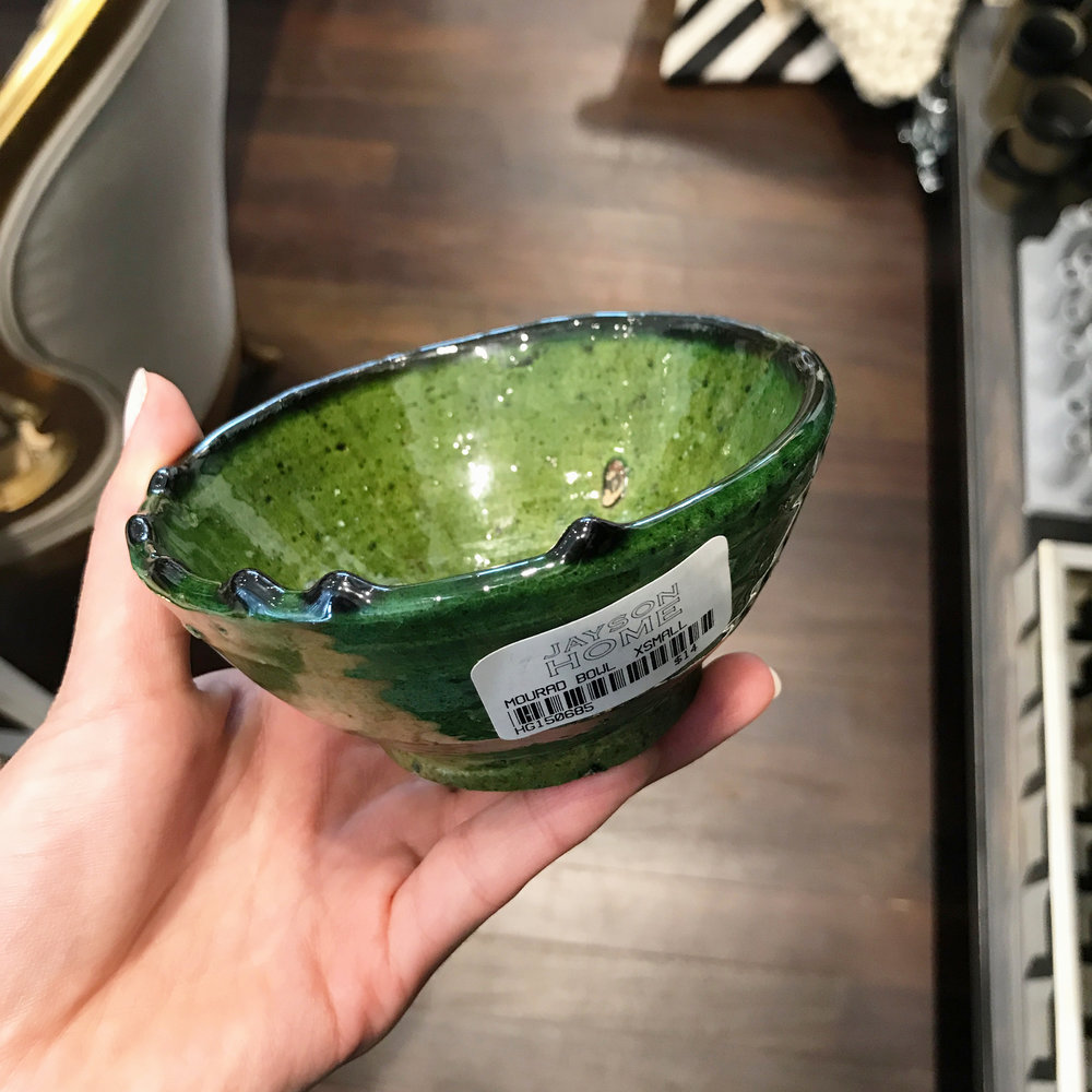 Mourad Bowl X-Small  - $14 |   GREAT FOR :  Keys or jewelry