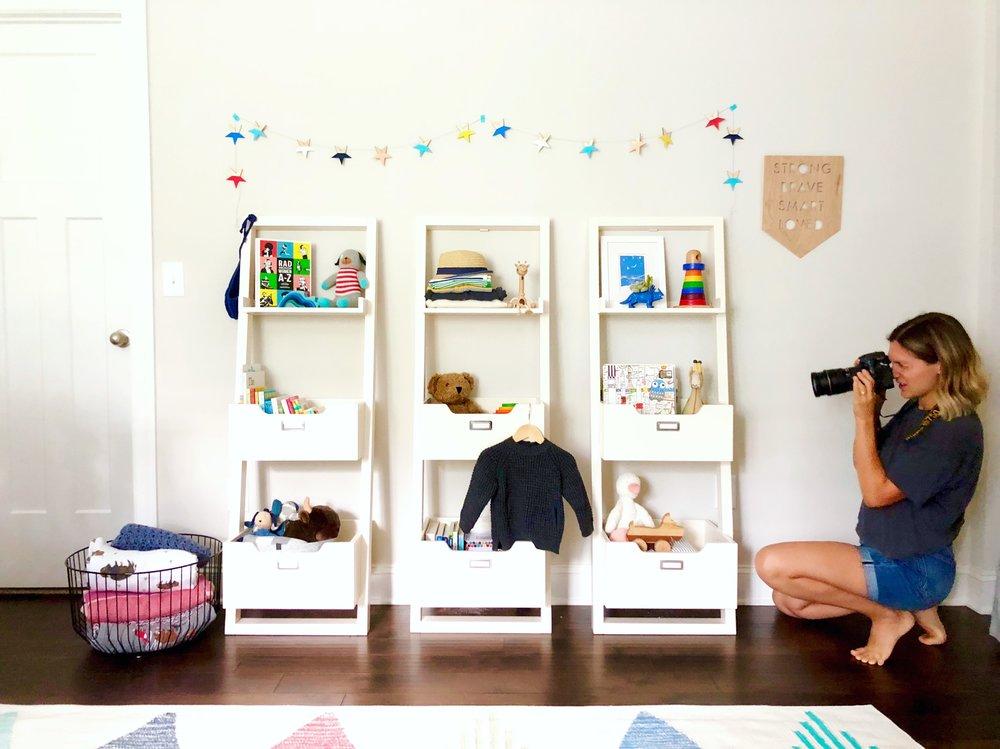 bright modern nursery