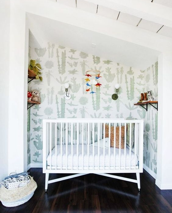 DwellStudio crib seaside nursery