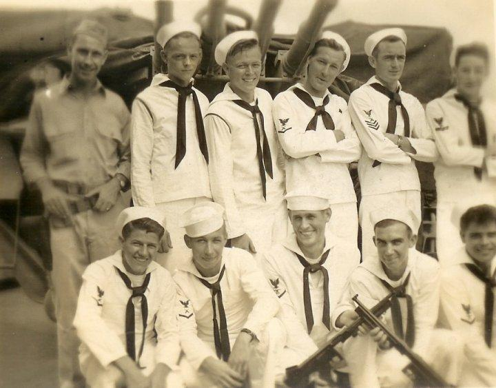 Pete McCombs, third from left in the back row.