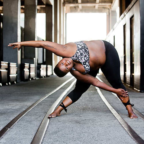 "JESSAMYN STANLEY(EVERYBODY YOGA) - ""This is an amazing event. I mean that as honestly as I can possibly say."""