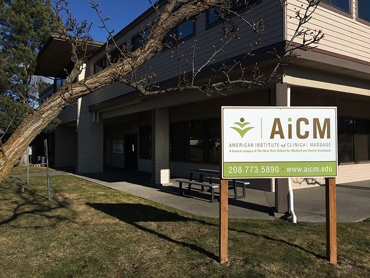American Institute of Clinical Massage Building in Post Falls, Idaho.