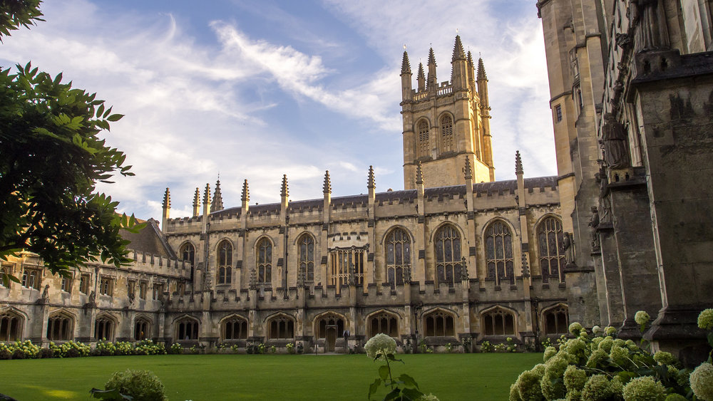 2019 Students will have the chance to visit beautiful Magdalen College, Oxford