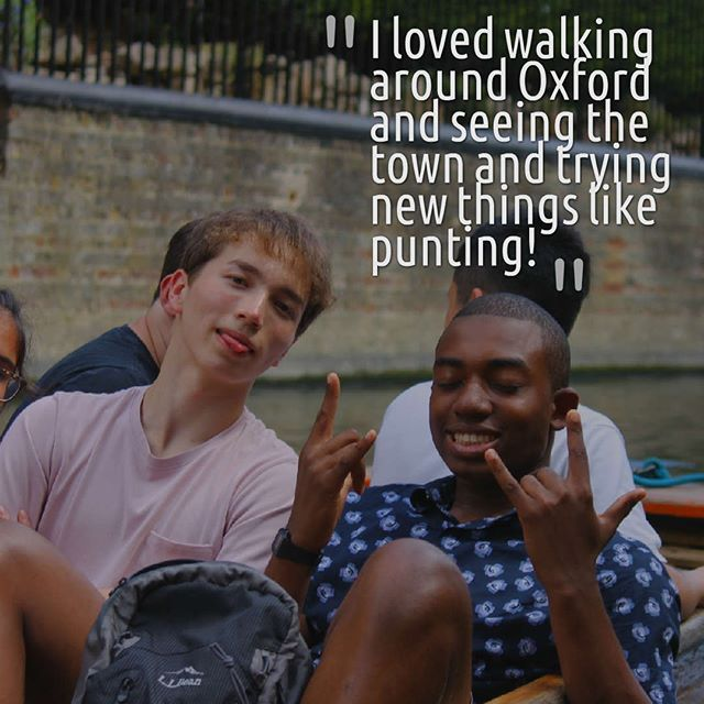 Here's what one of our students had to say about the summer school! . Punting is a timeless uniquely Oxbridge activity that most students would not have tried before coming on the summer school! . It is a really fun bonding experience for the students to enjoy with their new friends, and students have the opportunity to learn how to punt themselves after being chauffeured on a punt in Cambridge!🚣 If you'd like to find out more about our summer school programme and how to apply, check out the link in our bio! 🤗 . . . #summerschool #oxford #cambridge #oxbridge #studyabroad #studentravel #summercamp #summerbreak #summereducation #summervacation #studyinbritain #studylaw #studymedicine #studypolitics #studyeconomics #studycoding #studyengineering  #oxfordsummer #cambridgesummer #summersun #summercamp #summerschool #summerschoolfun #summerschool2018 #punting