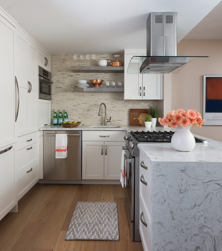 Exceptional Condo Kitchen Design Bethesda MD 1