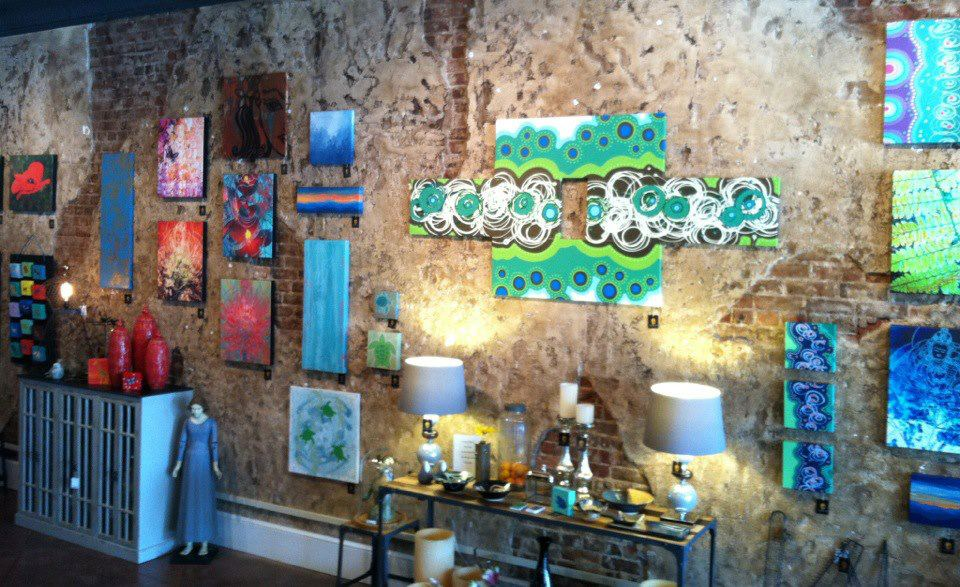 color + texture   gallery east