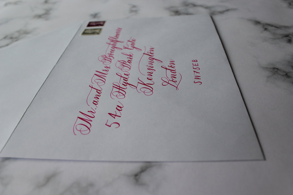 Invitation envelope calligraphy.jpg
