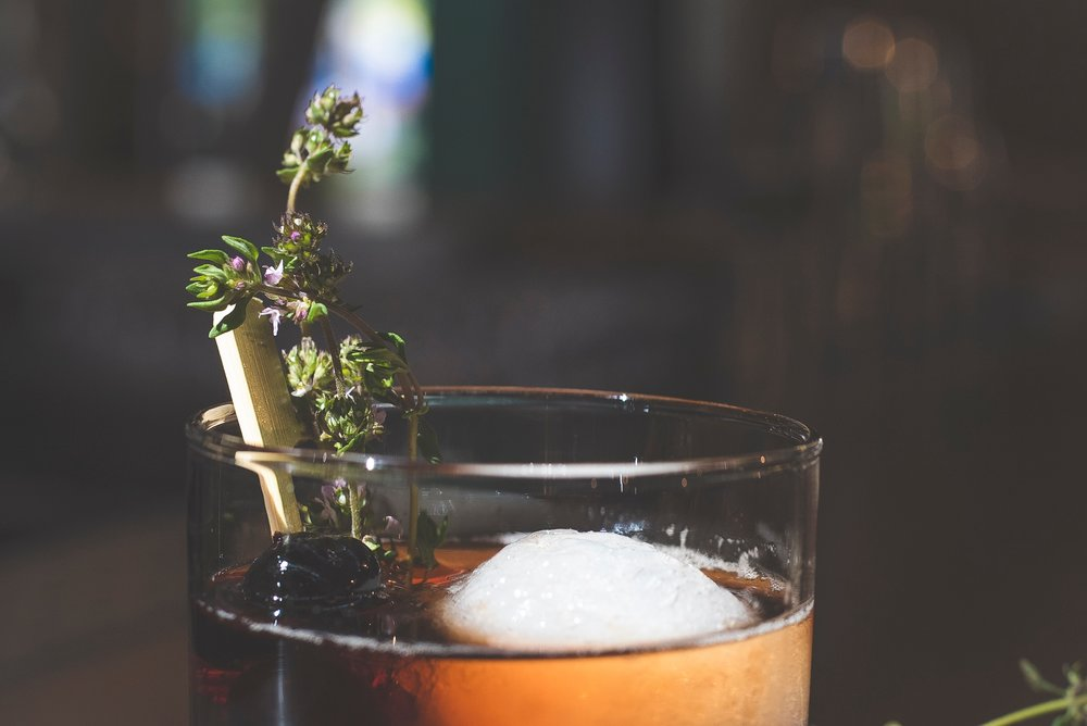 cocktails + mocktails - we press our own juice and make our own syrups. each drink is passionately crafted by hand. our menu changes with the new england season.don't see your drink? just ask us, friend!