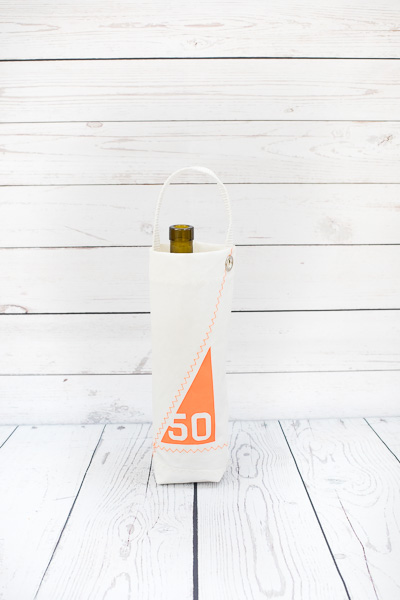 SAILS AND CANVAS BIRTHDAY BOTTLE BAGS - £15.00