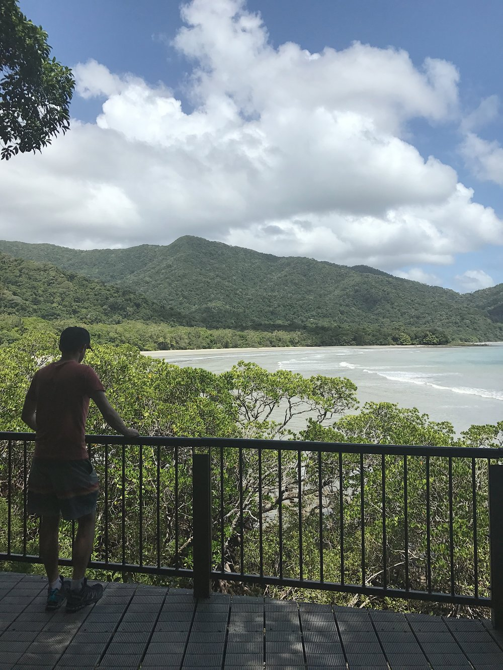 The viewpoint across Cape Tribulation