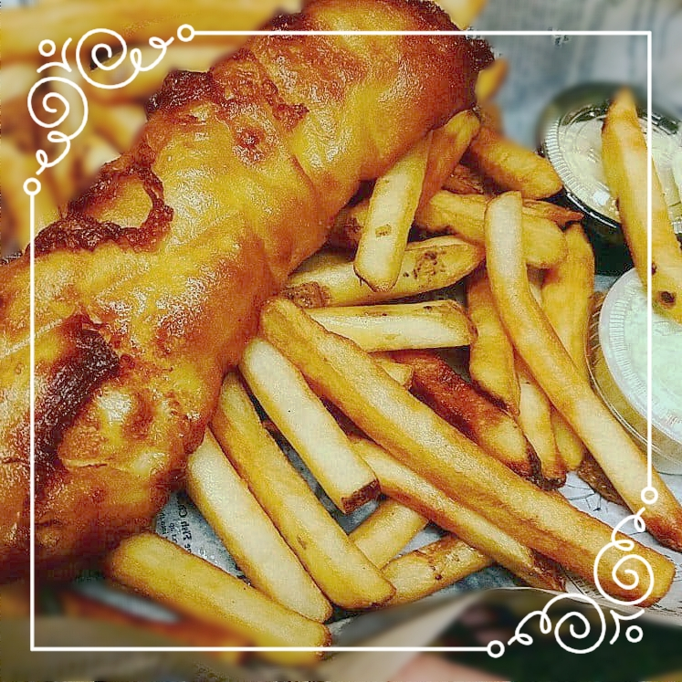 Seafood - ALL SEASONALALL SERVED WITH FRIES, RICE, OR PAN FRIED POTATOES