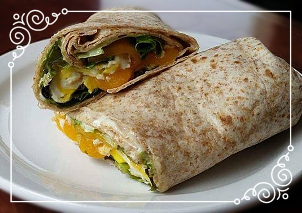 Wraps - Served with kettle chips or Vegetable Soup