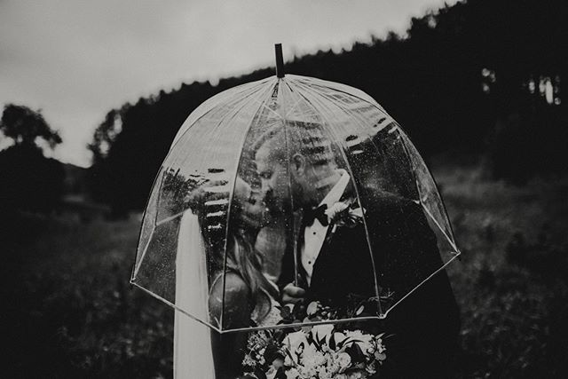 Give me all the rainy day weddings, please. Are you a person that would embrace the rain or have an indoor plan b?