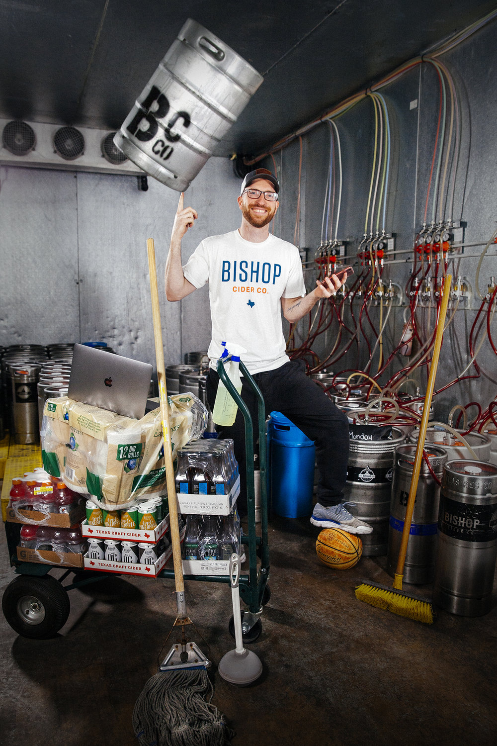 Sean Dockery - Manager of Places  Sean@bishopcider.com