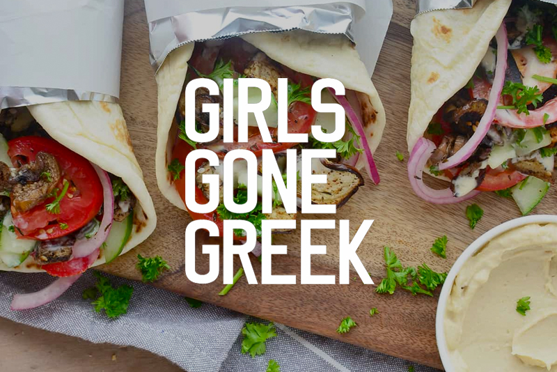 Girls Gone Greek - We're delighted that the Girls Gone Greek are bringing Greece's favourite fast food — the souvlaki wrap — to this years' festival.They're also going totally meat-free for the festival and will be serving up a special vegetarian / vegan and gluten-free menu.