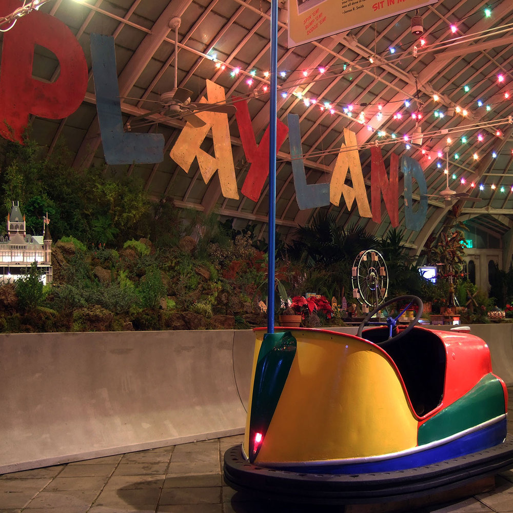 Playland-at-the-Conservatory of Flowers  Sound Design, Location Recording & Installation