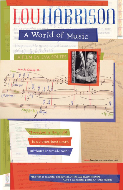 Lou Harrison: A World of Music - Effects Editor * Mix