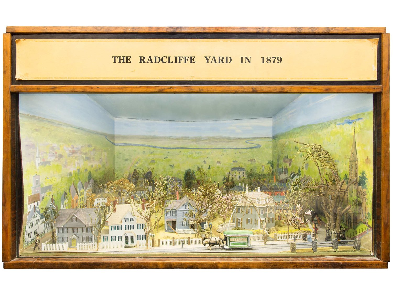 Diorama of Radcliffe Yard, 1978 — 75 Stories, 75 Years