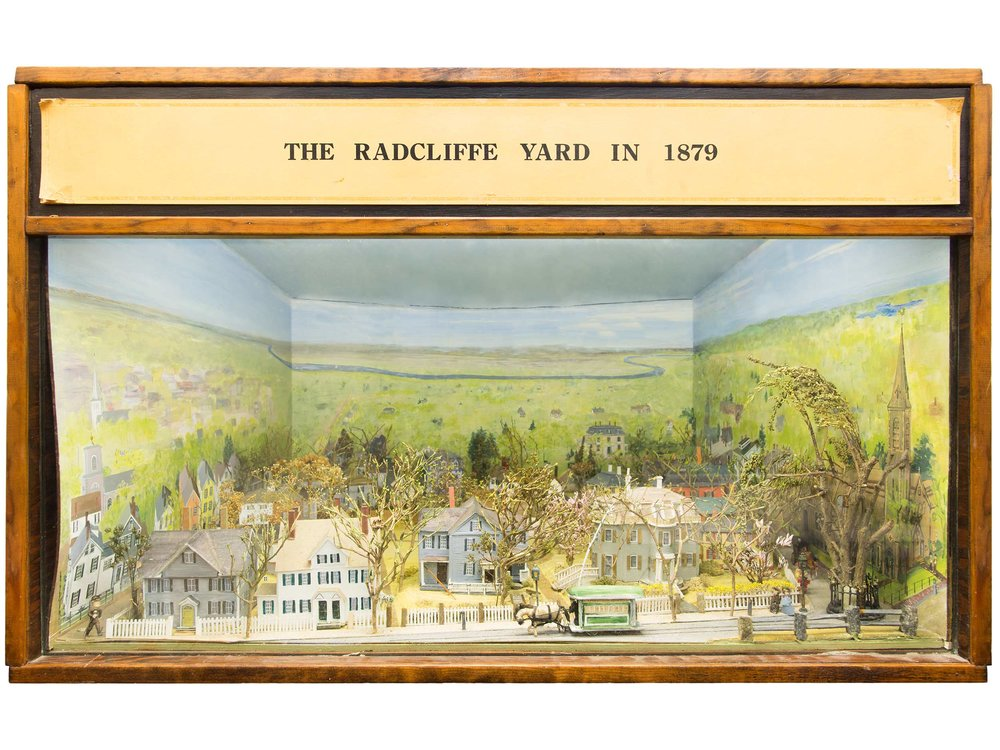 Diorama of Radcliffe Yard, 1978