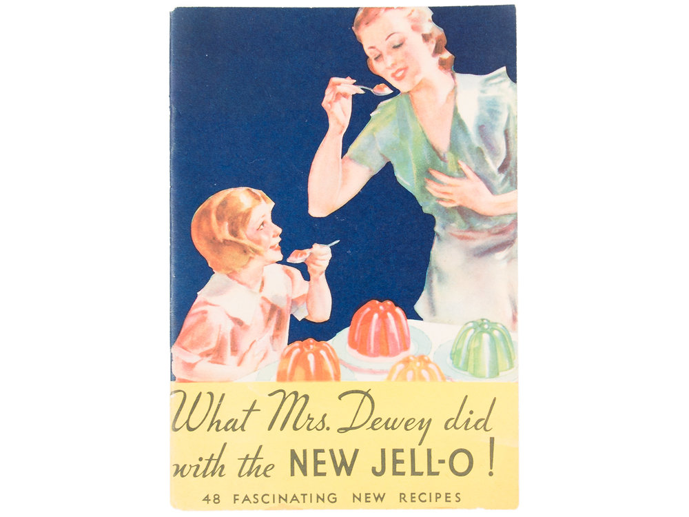 Jell-O culinary pamphlet, 1933