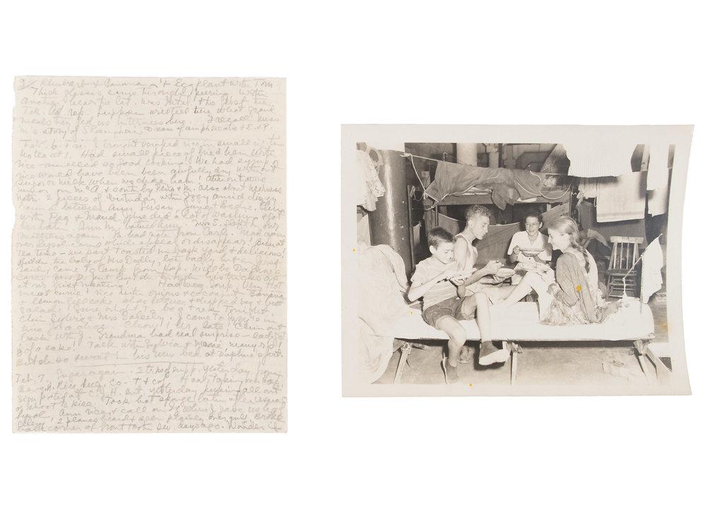 Natalie Stark Crouter's diary, ca. 1941–1945