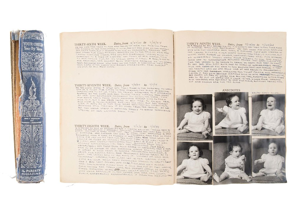 Baby book, 1943–1948