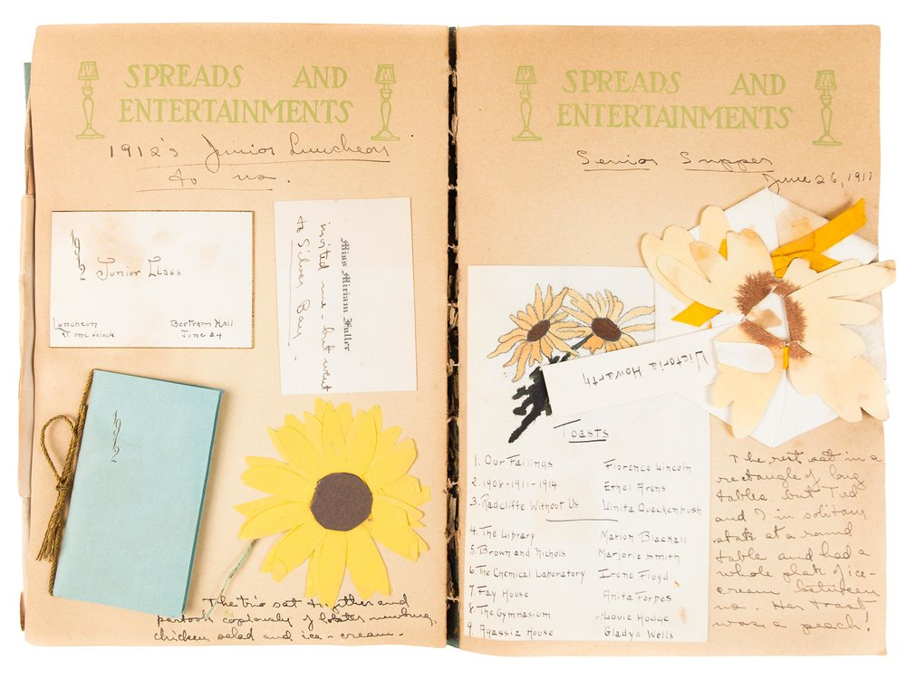 Scrapbook of Victoria Ogden Howarth, 1907–1911