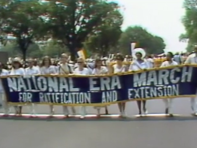ERA march footage, 1978