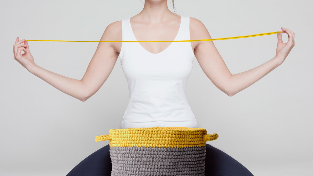 CROCHET YOGA - For bored, stressed and stiff