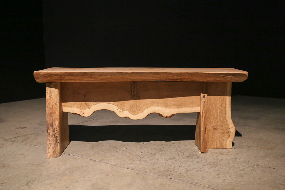 Oak Wing Bench -